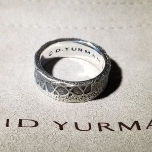 David Yurman Men's Shipwreck Band Ring Size 10